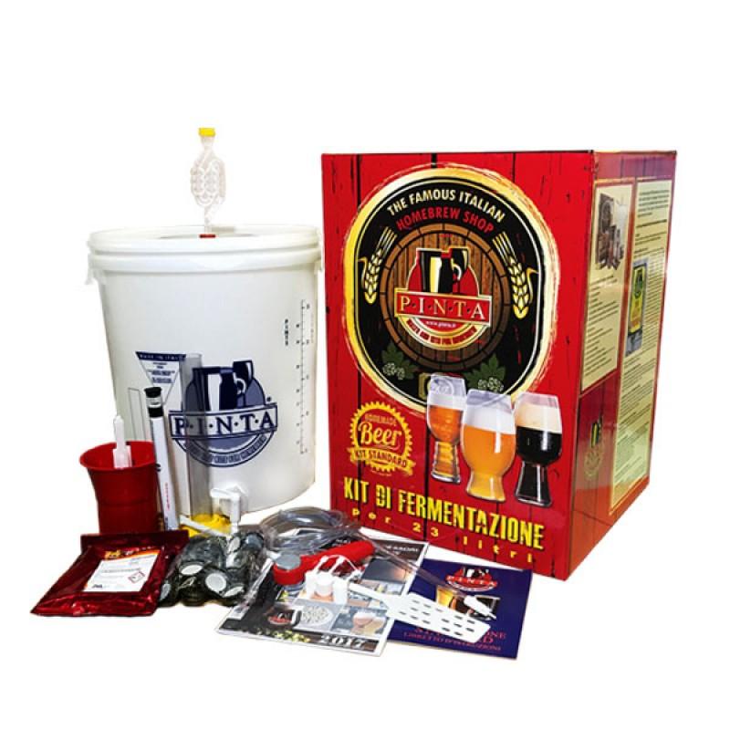 kit fermentazione birra pinta